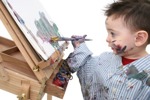 art boy painting skazka
